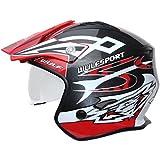 Wulf Vista Trials Helmet M Red