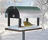 Vogelfutterhaus im exclusiven dänischen Design - Vogelhaus Vogelstation Futterhaus Vogeläuschchen Futterhaus Vogelfutterstation