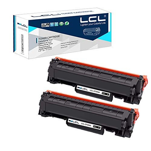 LCL Cartucho tóner Compatible 44A CF244A 2 Negro
