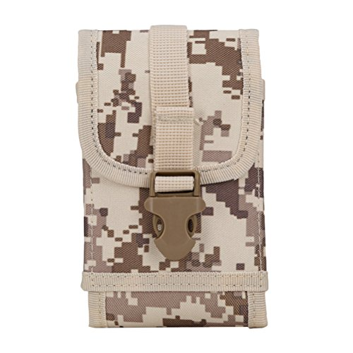 Zhuhaitf Outdoor Taktische Molle Hip Waist Belt Bag Wallet Pouch Purse Phone Case Multifunctional Accessories Bag (Bag Hip Purse)