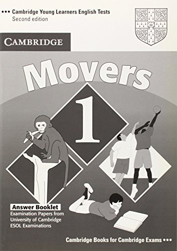 Cambridge Young Learners English Tests Movers 1 Answer Booklet: Examination Papers from the University of Cambridge ESOL Examinations: Level 1