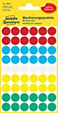 Avery Zweckform 3088 Markierungspunkte (270 Stück, Ø 12 mm) 5 Blatt farbig sortiert