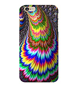 ColourCraft Abstract Image Design Back Case Cover for APPLE IPHONE 6 PLUS