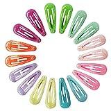 Slivercolor 20 Stück Haarspange Haarklammer für Mädchen, Kinder, junge Frauen
