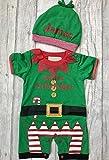 Cuffietta ragazzi piccolo aiutante di Babbo Natale elfo pagliaccetto con (9–12mesi)