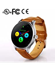 Montre Connectée Bracelet Smart Fitness Tracker Bluetooth Montres bracelet,Sommeil chronomètre,d'Activité Fitness,mesure de la pression artérielle,avec Anti-perte pour Android et iOS iPhone/Samsung/Galaxy/Sony