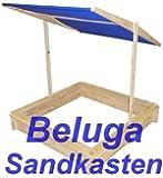 Beluga Sandkasten mit Sonnendach u. Abdeckung