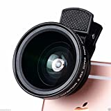 Best I Phone 6 Lenses - RFV1(tm) 37mm 0.45X 49UV Super Wide Angle Lens Review