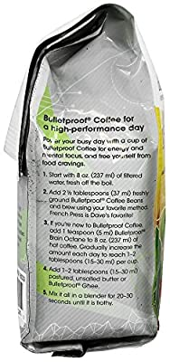 Bulletproof Upgraded Decaf Coffee - Ground (340g)