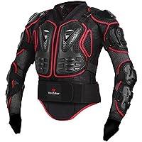 per Armadura Profesional Protección del Cuerpo de La Motocicleta Motocross Racing Body Armor Spine Protectora Pecho Gear Chaqueta