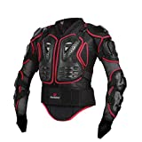 Zyurong Nero Armatura MX Motocross Mountain Ciclismo Pattinaggio Snowboard Spine...
