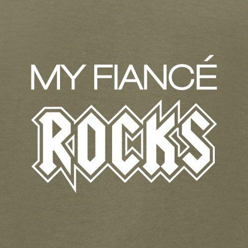 My Fiancé Rocks - Herren T-Shirt - 13 Farben Khaki
