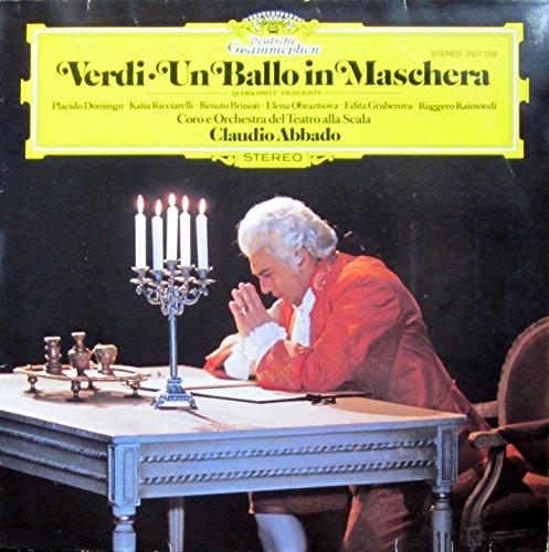 Verdi: Un Ballo in Maschera (Querschnitt) [Vinyl LP] [Schallplatte]