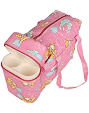 My Newborn Baby Diaper Changing Cum Bottle Carry Bag for Mothers -Pink