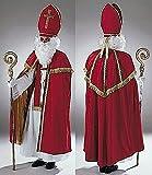 Bischof Sankt Nikolaus Komplett Kostüm edel + Zubehör aus Deutscher Herstellung