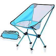 Silla Plegable Al Aire Libre Camping Portable AviacióN AleacióN De Aluminio Silla De Pesca Ligero Silla Moon , blue