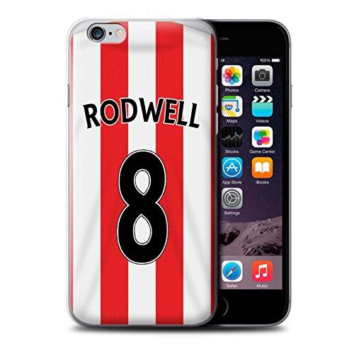 Offiziell Sunderland AFC Hülle / Case für Apple iPhone 6 / Pack 24pcs Muster / SAFC Trikot Home 15/16 Kollektion Rodwell