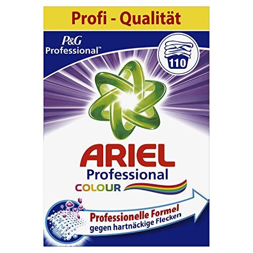 Ariel Professional Colorwaschmittel Pulver, 7,15kg, 110Waschladungen