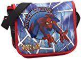 Disney 20248-0500 - Bolso bandolera infantil (21 x 17 x 6 cm, 1 L), diseño de Spiderman, color azul