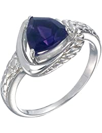 Sterling Silver Amethyst Ring (1 CT)
