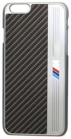 BMW M Coque en aluminium pour iPhone 6 Plus/6S Plus Noir