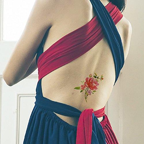 tafly-rose-fleur-colore-corps-art-transfert-autocollant-de-tatouages-temporaires-pour-femmes-5-feuil
