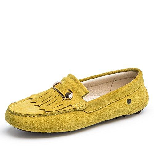 fall fashion shoes/ vent doux frangé haricot/Chaussures Head A
