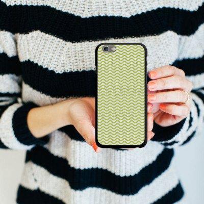 Apple iPhone 5s Housse Étui Protection Coque Vagues Motif Motif CasDur noir