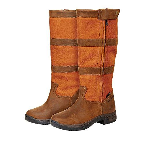 Dublin Zip River Waterproof Boots - Dark Brown Brown