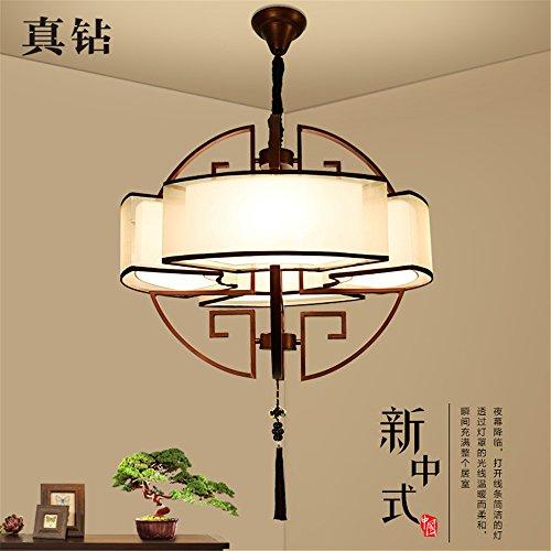 BRIGHTLLT Neue chinesische Kronleuchtern moderne, minimalistische Wohnzimmer Licht kreative Kreise...