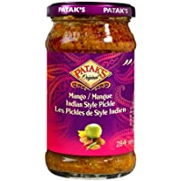 Patak's Medium Mango Pickle 6x283g Jars