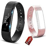 Fitness Tracker Watch, JIUXI Activity tracker Impermeabile...