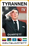 Tyrannen IV Quartett Kartenspiel