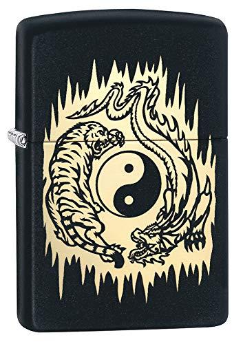 Zippo Feuerzeug Tiger Dragon Yin Yang Design (Zippo Feuerzeug Dragon)