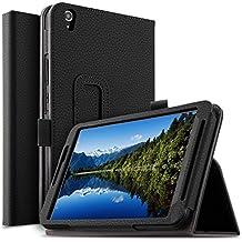 Yuntab H8 Funda, IVSO Yuntab H8 Estuches Fundas cubierta de cuero Carcasa para Yuntab H8 Tablet (Negro)