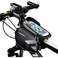 Bolsa Bicicleta Cuadro,LiDiwee Soporte Bolsa Movil Bicicleta Impermeable Bolsa Manillar Bicicleta de Teléfono Celular