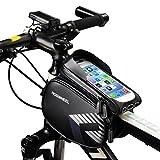 09b4f0cfb49 Bolsa Bicicleta Cuadro,LiDiwee Soporte Bolsa Movil Bicicleta Impermeable  Bolsa Manillar Bicicleta de Teléfono Celular