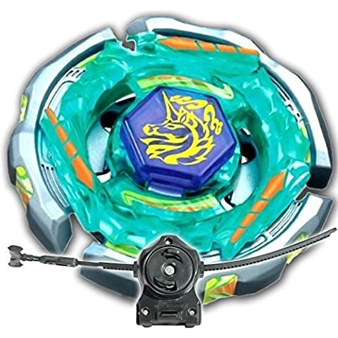 Beyblade Ray Unicorno (Striker) D125CS Metal Masters LL2 Launcher and Rip Cord Shipped and Sold From US by Rapidity