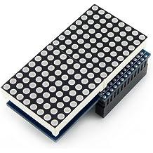 Odroid LED Matrix Shield for ODROID-C1 / C1+ / XU4(combination with XU4 Shifter Shield)