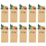 Juego de Pinturas de Cera de Colores x 10 - Regalos para Niños / Accesorios en Bodas