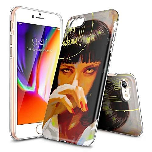 BAI JING Handyhülle für iPhone 5/5s/SE, Ultra Slim Clear TPU, Stoßfest und Kratzfest - KUNDENGERECHTE Muster [BJDE201905157] -