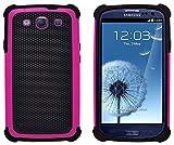 G-Shield Hülle für Samsung Galaxy S3/S3 Neo Stoßfest Schutzhülle (I9300) - Rosa