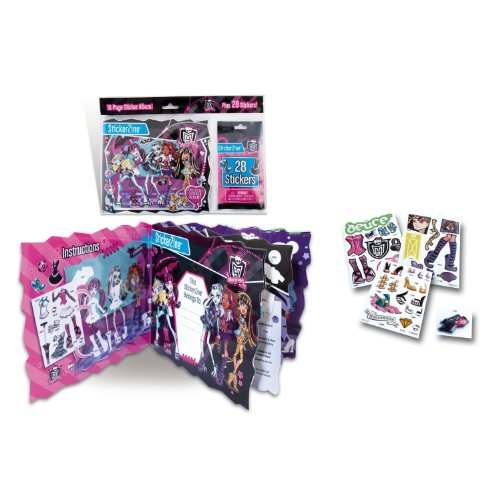 Ravensburger - Mattel 87023 - Monster High Album Monster High Sticker