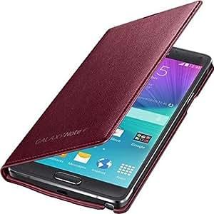 Samsung Etui porte-cartes LED EFNN910 pour Samsung Galaxy Note 4-Rouge