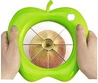 SahiBUY Stainless Steel Apple Fruit Cutter Slicer Multi Color