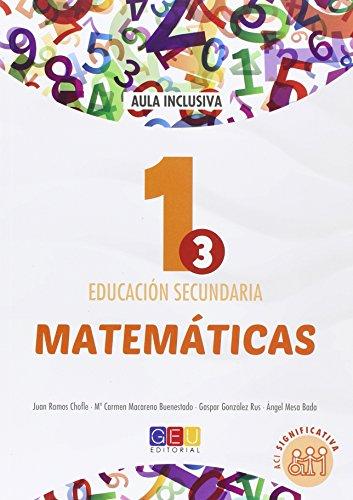 Descargar Libro Matemáticas 1 Educación Secundaria ACI Significativa - 9788416729012 de Inmaculada Alba Gómez