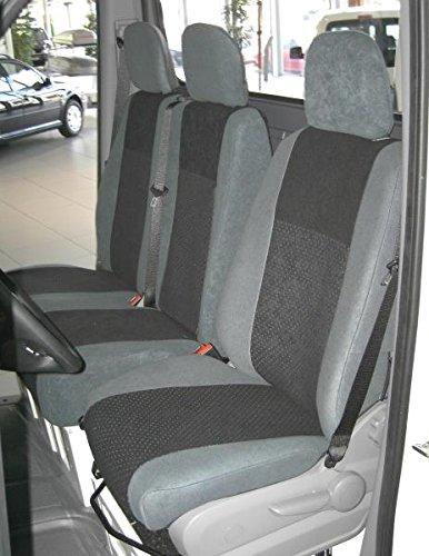 Preisvergleich Produktbild Heimsch Design Sitzbezug für Fiat Fiorino, Bj. ab 03/2008, Alcanta, Beifahrer-Klappsitz