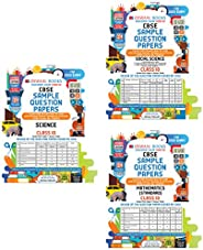 Oswaal CBSE Sample Question Papers Class 10 Science, Social Science, Mathematics (Set of 3 Books)