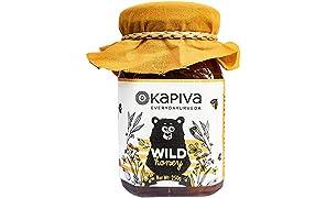 Kapiva Wild Honey - Pure, Natural and Healthy, 250GM