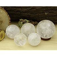 Reikiera Kristallstein Kugel natürlicher Edelstein Kugel Reiki Kristallheilung mit Ring Stand - Größe wählen preisvergleich bei billige-tabletten.eu